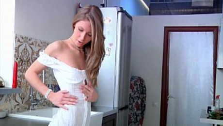 Incredible extreme and erotic pissing with hot russian teen
